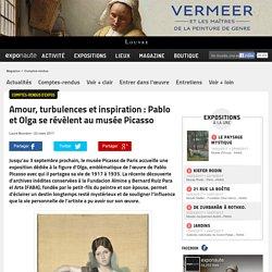 Amour, turbulences et inspiration : Pablo et Olga se révèlent au musée Picasso