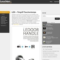 LED – Türgriff Taschenlampe