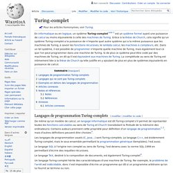 Turing-complet