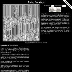 Turing Drawings