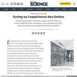Turing, l'expérience des limites