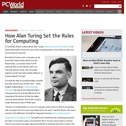 How Alan Turing Set the Rules for Computing