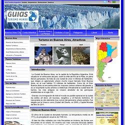 Turismo en Buenos Aires - Viajar - Conocer - Paseos - GuiasTurismoMundo.com