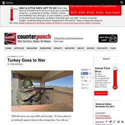 Turkey Goes to War