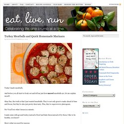 Turkey Meatball Recipe