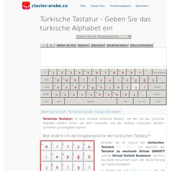 Türkische Tastatur ™ Geben Sie das türkische Alphabet ein