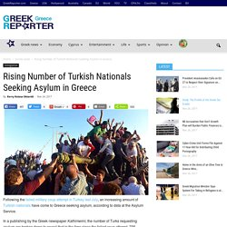 Rising Number of Turkish Nationals Seeking Asylum in Greece