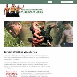Turkish Wrestling Home Page
