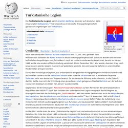 Turkistanische Legion