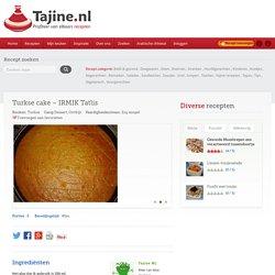 Turkse cake - IRMIK Tatlis