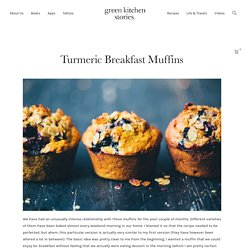 Turmeric Breakfast Muffins — Green Kitchen Stories