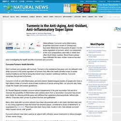 Anti-Aging, Anti-Oxidant, Anti-Inflammatory