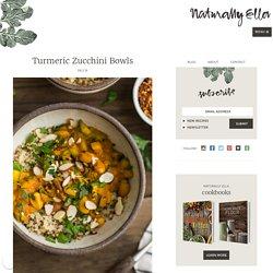 Turmeric Zucchini Bowls