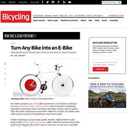 Turn Any Bike into an E-Bike