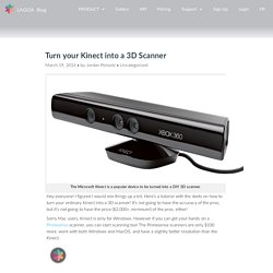 Turn your Kinect into a 3D Scanner