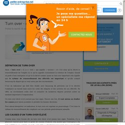 Turn over - définition et causes