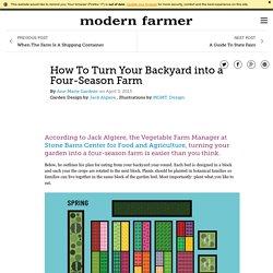 How To Turn Your Backyard into a Four-Season Farm