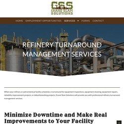 Refinery Turnaround Management