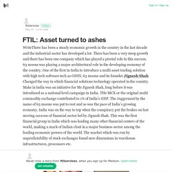 FTIL: Asset turned to ashes – ftilservices – Medium