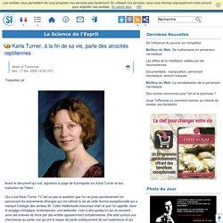 Karla Turner, à la fin de sa vie, parle des atrocités reptiliennes