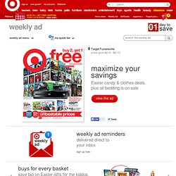 Turnersville Weekly Deals In Stores Now : Target Weekly Ad