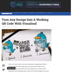 Turning Any Design Into Beautiful QR Code