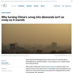 Why turning smog into diamonds isn't as crazy as it sounds