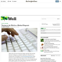 Turning to the Web for a Medical Diagnosis
