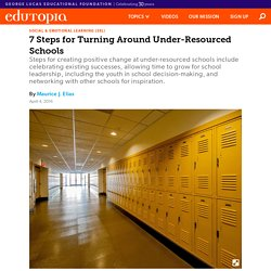 7 Steps for Turning Around Under-Resourced Schools