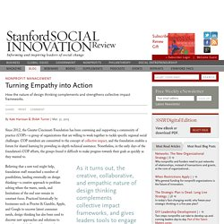 Turning Empathy into Action