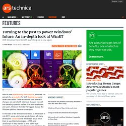 Turning to the past to power Windows' future: An in-depth look at WinRT