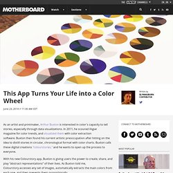 This App Turns Your Life into a Color Wheel