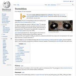 Turntablism