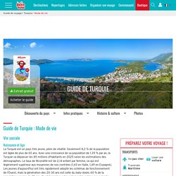 TURQUIE, Mode de vie, guide touristique Petit Futé