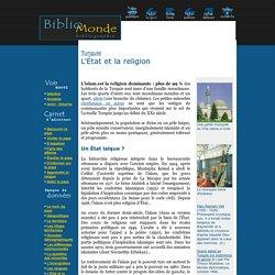 Turquie , L'État et la religion