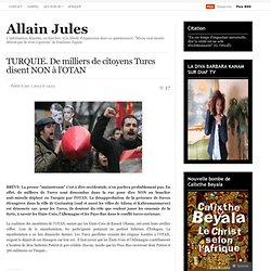 TURQUIE. De milliers de citoyens Turcs disent NON à l'OTAN
