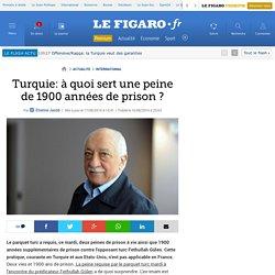 Turquie: à quoi sert une peine de 1900 années de prison ?