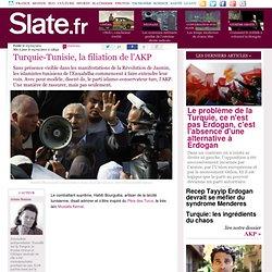 Turquie-Tunisie, la filiation de l'AKP