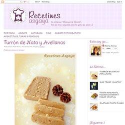 Turrón de Nata y Avellanas