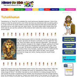 Tutankhamun Facts - History for Kids