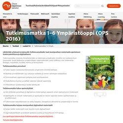 Tutkimusmatka 1–6 Ympäristöoppi (OPS 2016) – Otava Oppimisen palvelut