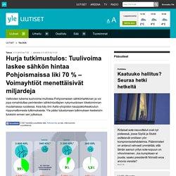 Hurja tutkimustulos: Tuulivoima laskee sähkön hintaa Pohjoismaissa liki 70 % ...