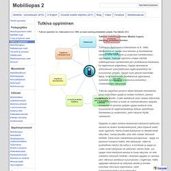 Tutkiva oppiminen - Mobiiliopas 2