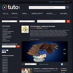 BLENDER , 509 Formation Blender en vidéo sur TUTO