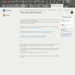 Tuto BookCreator