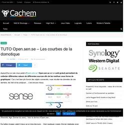 TUTO Open.sen.se – Les courbes de la domotique