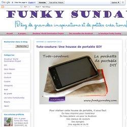 Tuto-couture: Une housse de portable DIY