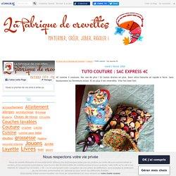 TUTO couture : Sac express 4C