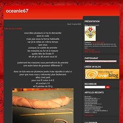 Tuto sac en crochet - le blog oceanie67
