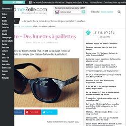 Tuto - Des lunettes à paillettes